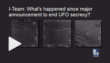 What's happened since major announcement to end UFO secrecy?
