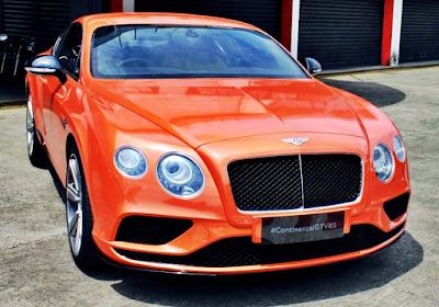Inilah 5 Merek Mobil Termahal di Indonesia Versi Otomotif HOT - Bentley Continental GT V8 S