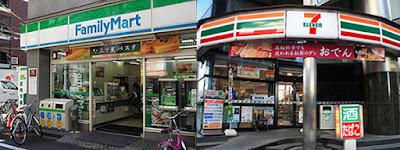 Lojas de conveniência no Japão