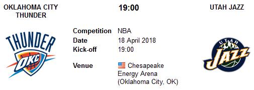Oklahoma City Thunder vs Utah Jazz en VIVO