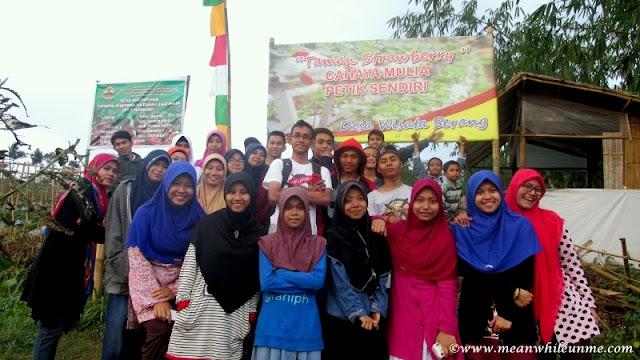 muda mudi banglarangan #MMB goes to gombong kebun strawberry desa wisata serang