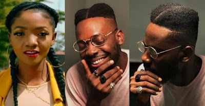 Simi reacts to Adekunle Gold`s New Haircut, He Replies.