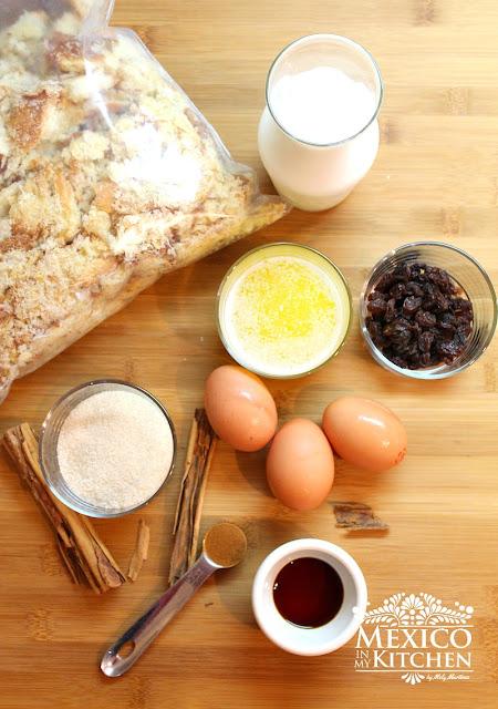 Budín de pan casero receta-1