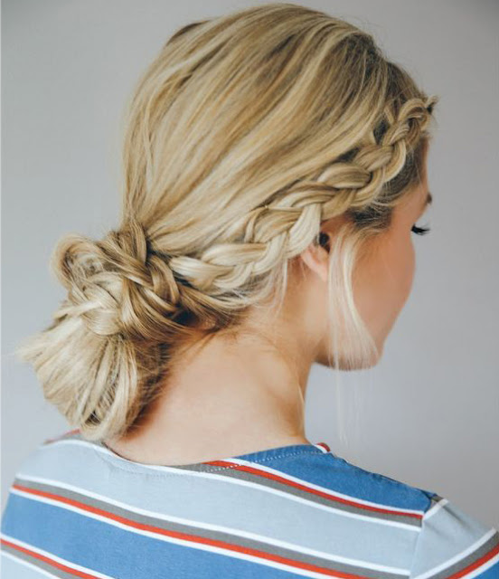 braided bun I  Sexy, Fun & Flirty Summer Hairstyles