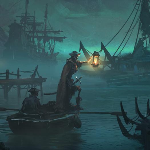 Curse of the Vampire Coast Wallpaper Engine