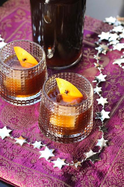 cocktail aux épices poour Noel