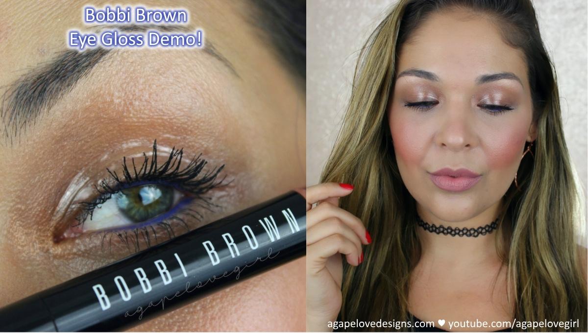 90e83f6f058 Bobbi Brown Glowing Skin and Eye Gloss Demo & First Impressions ...