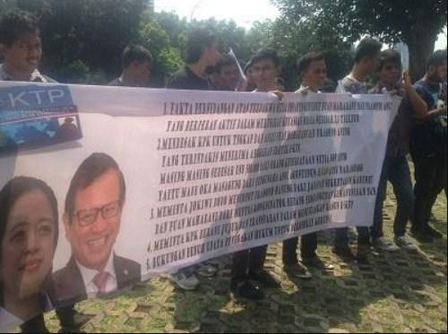Disebut di Persidangan Setnov, JMI Minta KPK Tangkap Puan dan Pramono
