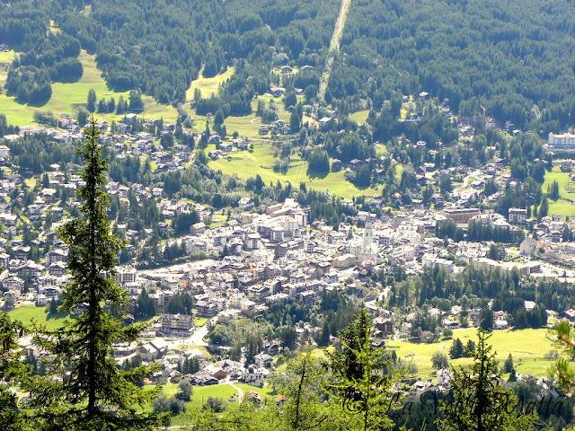 Cortina d'Ampezzo panorama da Col Drusciè