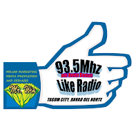93.5 Like Radio Your FM DXCL logo