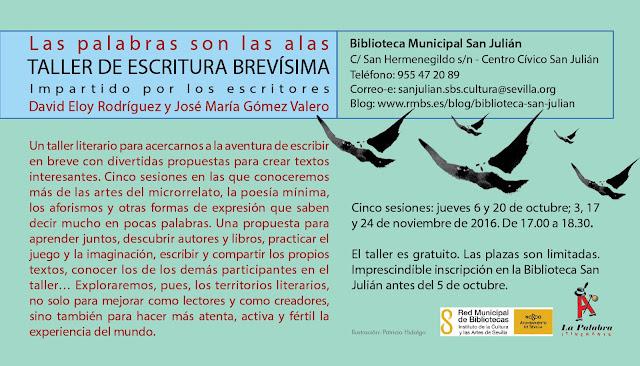 La Palabra Itinerante en biblioteca San Julián, Sevilla
