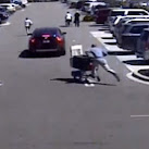 Florida Man Steals From Walmart, Uses Shopping Cart As Getaway Car