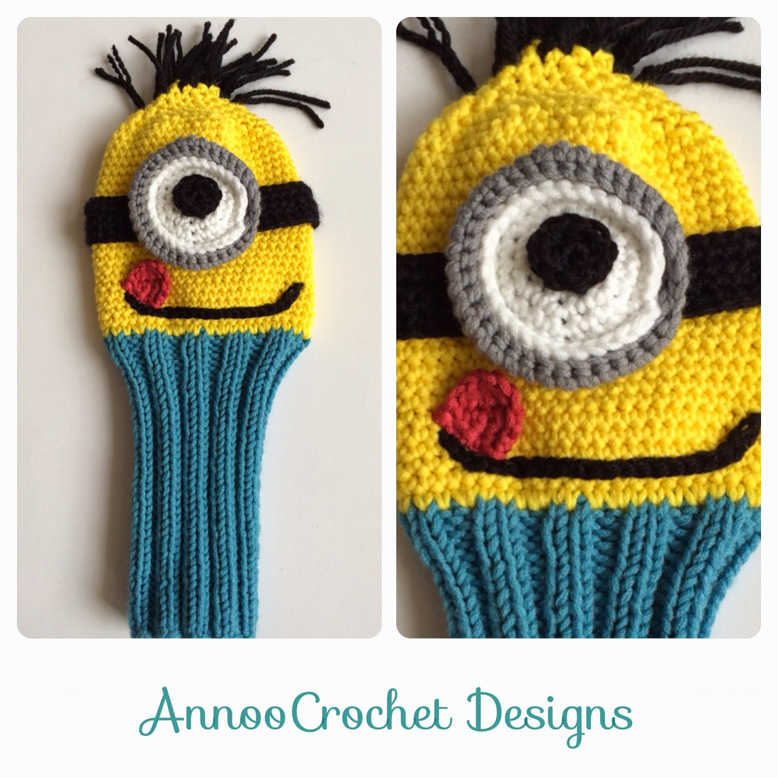 Minion CAL: Week 1 (free pattern) | Minion crochet, Minion crochet ... | 1600x1600