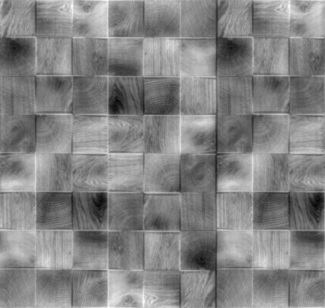 Tileable Cube Wood Block Panel with Maps  Texturise Free