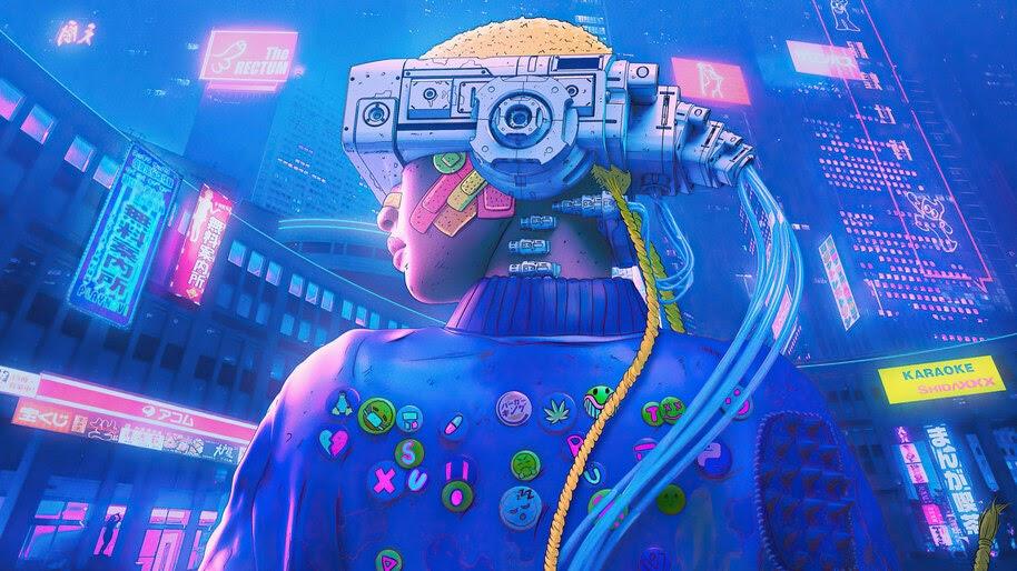 Cyberpunk, Sci-Fi, Art, 4K, #6.754