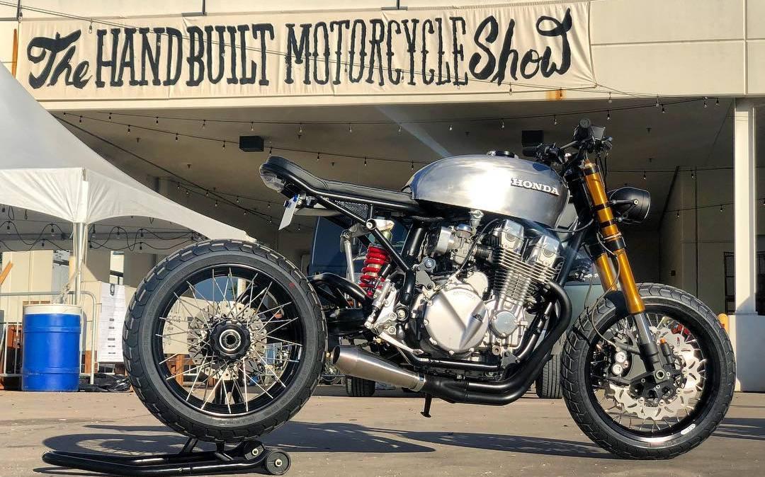 CB750 Nighthawk Casper | Vandals Moto - RocketGarage - Cafe Racer