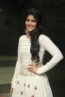 Megha Akash in beautiful White Anarkali Dress at Pre release function of Movie LIE ~ Celebrities Galleries 036.JPG