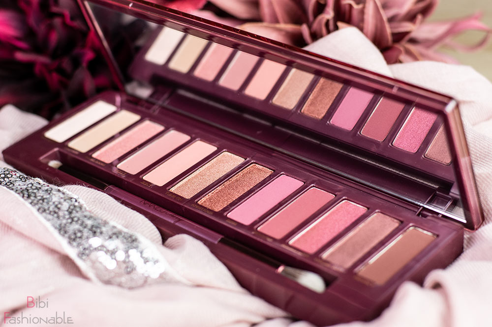 Urban Decay Naked Cherry Palette offen nah