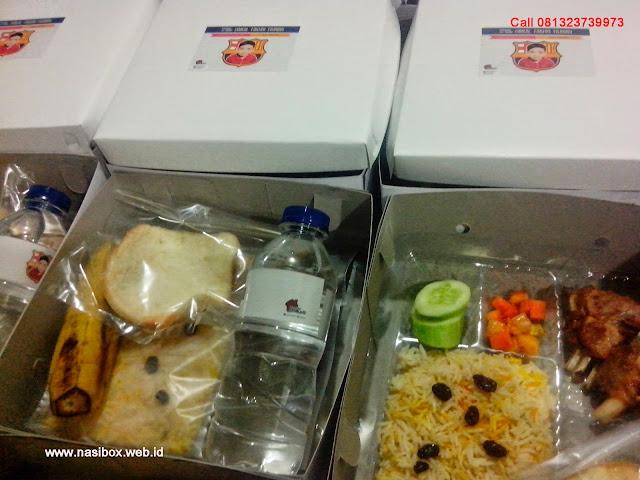 Nasi box untuk aqiqah