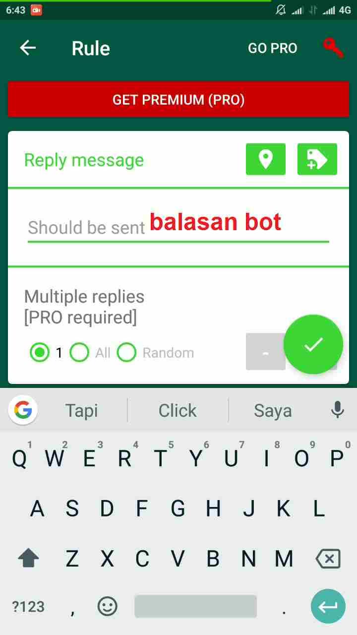 Cara membuat pesan auto reply WhatsApp tanpa root 5