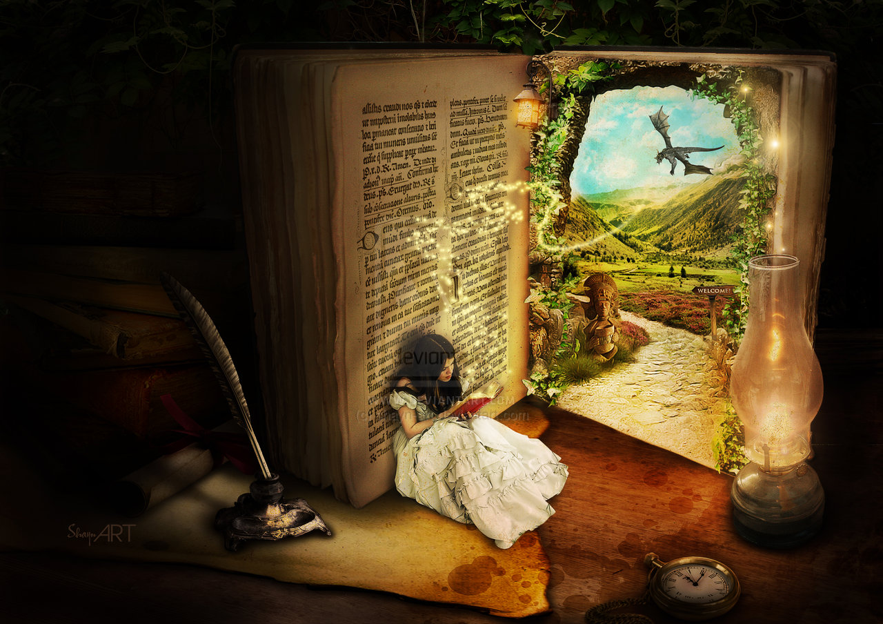 Book Art Hd Wallpaper: The Rainbow In The Storm: Imagination And Fairytales: Good