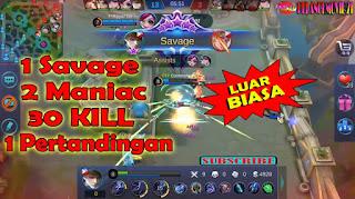 Gilak!!!-GUSION-1-Savage-2-Maniac-30-Kill-Tanpa-Mati-Wajib-Nonton