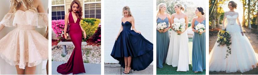 Onde comprar vestidos para o prom, casamentos e festas a preços acessíveis?