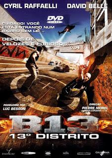 B13: 13º Distrito - BDRip Dual Áudio