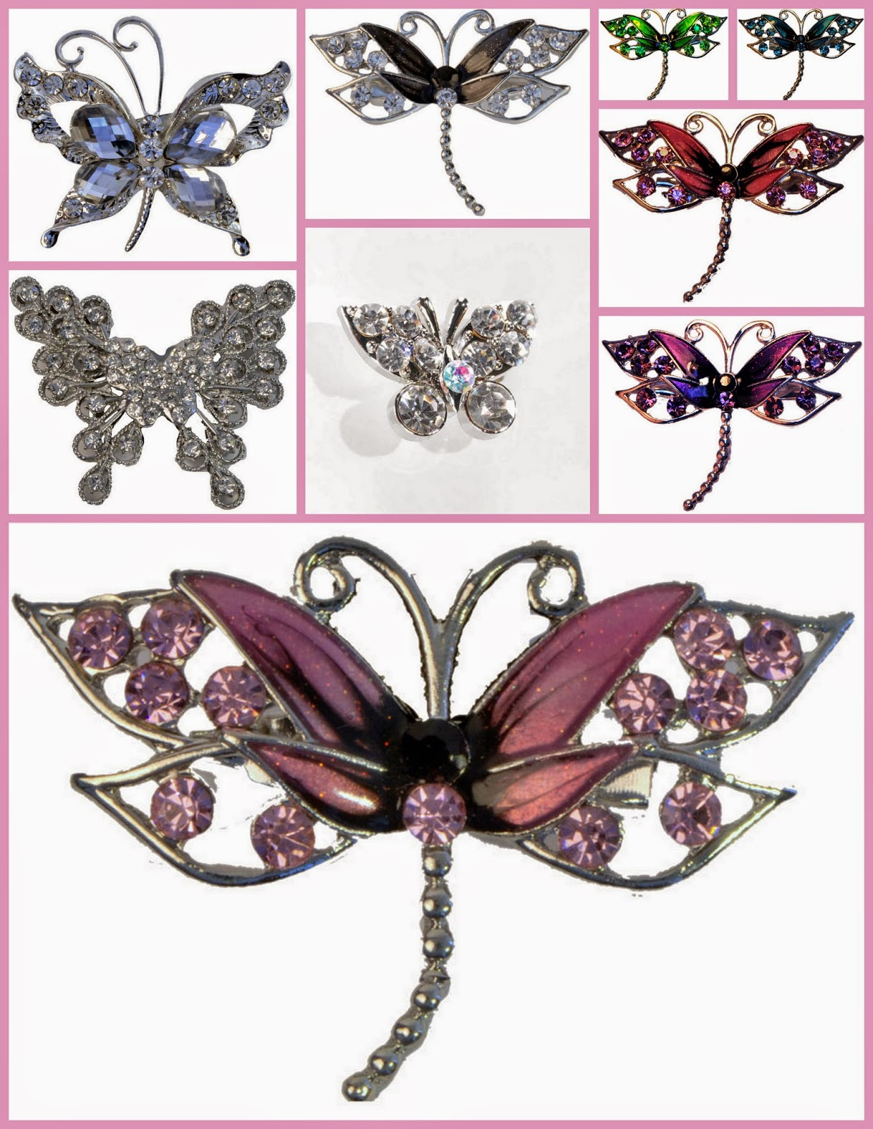 On Trend prom 2015- Collection of Bouquet Jewels for Prom corsages & nosegays