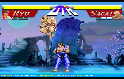 Street Fighter 2 Flash - Jeu de Combat en 2D sur PC