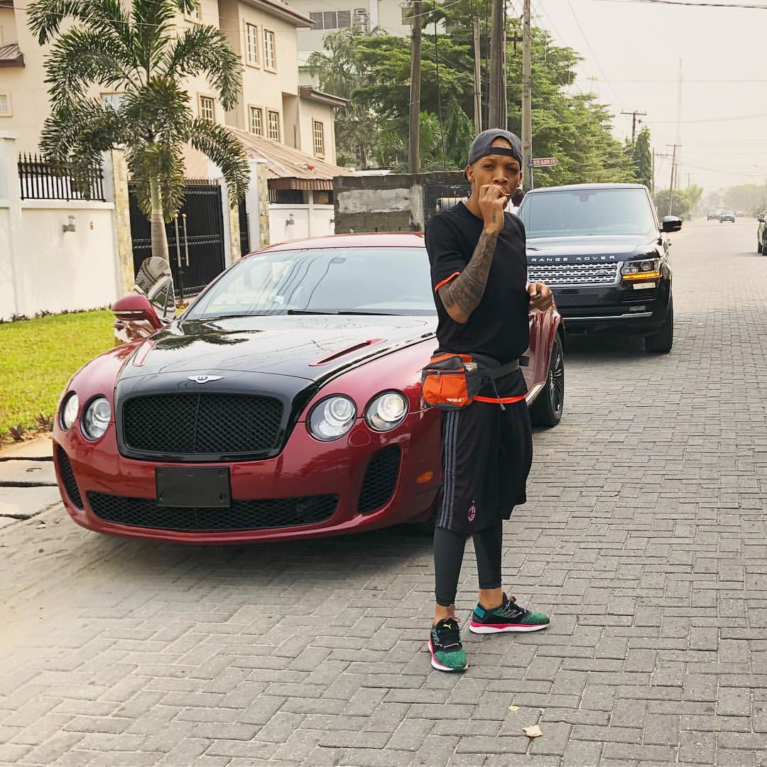 Photos: 10 Nigerian musicians who ride very expensive cars  - Music9ja
