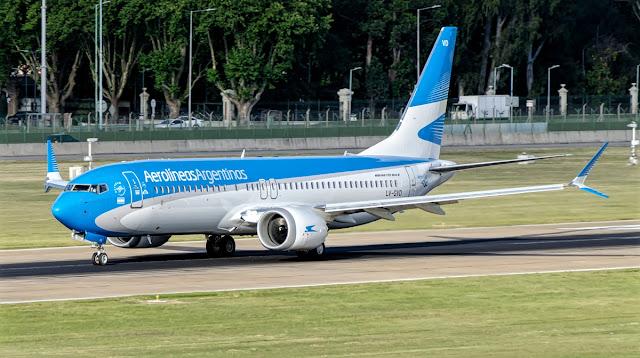 b737 max 8 aerolineas argentinas