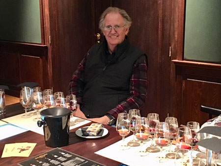 Resident Astronomer tries 8 different pours of Port at W and J Graham's (Source: Palmia Observatory)