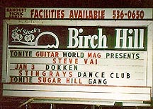 The Birch Hill Nightclub, route 9 in Old Bridge, New Jersey
