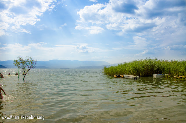 Dolno Dupeni Beach on Prespa Lake - Macedonia