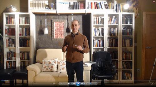 Carlos del Río, profesor de escritura creativa
