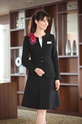 ホテルコンシェルジュで人気の制服