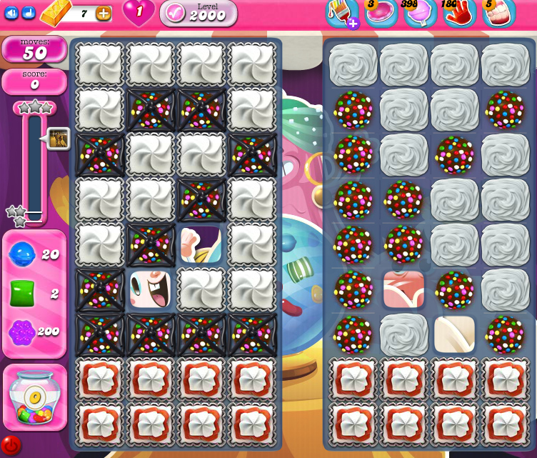 Candy Crush Saga 2000