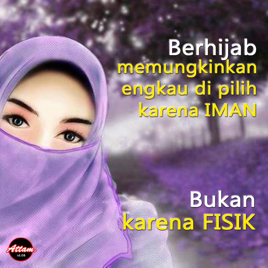 Gambar Kata Islami Tentang Hijab Kata Dalam Gambar