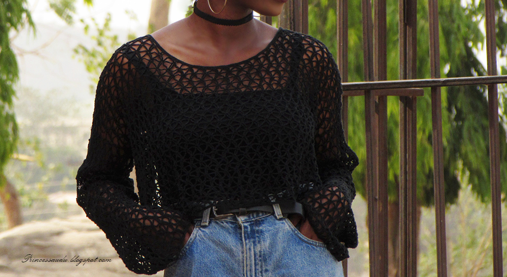 90's fashion trends, knitwear crop top, choker trend, dark lip