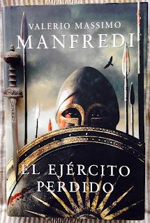 Portada del libro El ejército perdido, de Valerio Massimo Manfredi