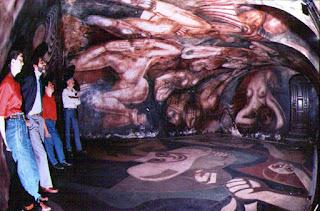 Resultado de imagen para murales con volumen de siqueiros