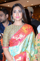 Shriya Saran Looks Stunning in Silk Saree at VRK Silk Showroom Launch Secundrabad ~  Exclusive 157.JPG