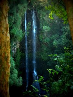 Cascata do Trombão, no Ecoparque Sperry, Canela