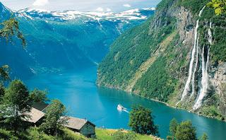 Норвежские фьерды