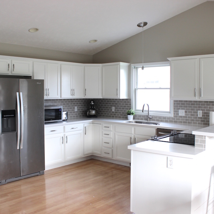 It 39 s a grandville life kitchen floor update for Kitchen designs for everyone