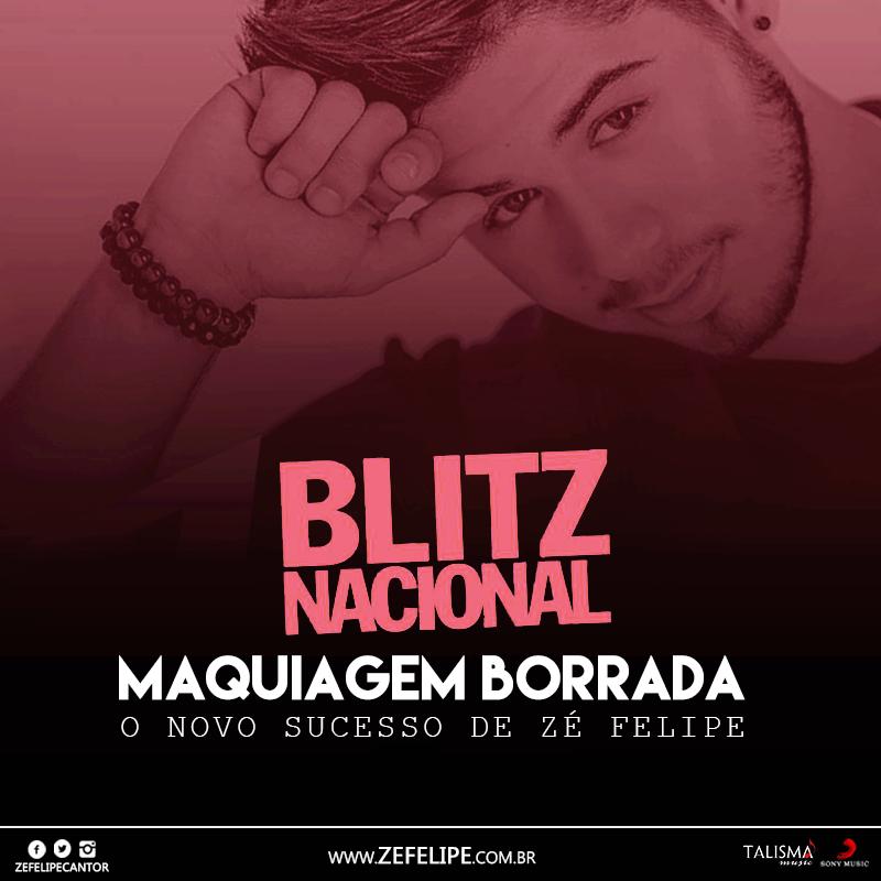 Maquiagem Borrada – Zé Felipe