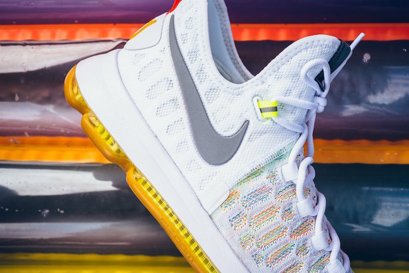 purchase cheap fa9ac 5e359 ... Nike KD 9 Summer Tones Release Date 843392-900 Official Images ...