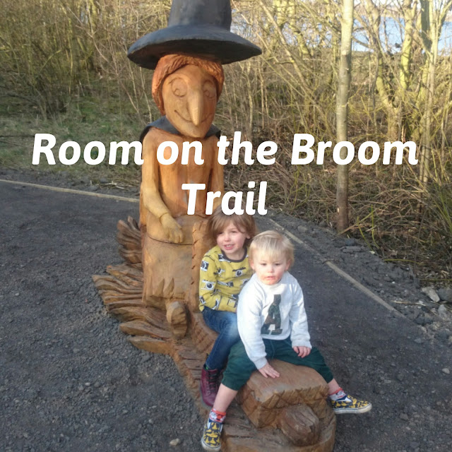 Room on the Broom trail at anglers country park
