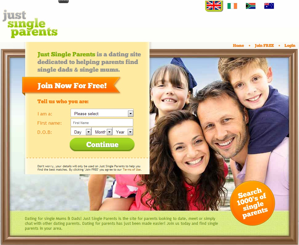 Online dating for parents